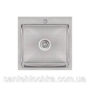 KRP Gebürstet-5050HM (3.0/1.0 мм) 215  інтегрована кухонна мойка, фото 2