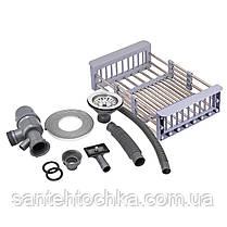KRP Gebürstet-5050HM (3.0/1.0 мм) 215  інтегрована кухонна мойка, фото 3