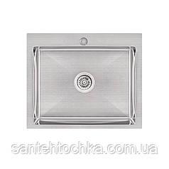 KRP Gebürstet-6050HM (3.0/1.0 мм) 215  інтегрована кухонна мойка
