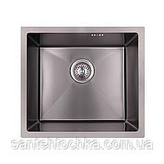 KRP PVD Schwarze-4843HM (3.0/1.0 мм) 215  інтегрована кухонна мойка