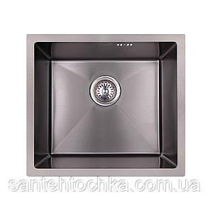 KRP PVD Schwarze-4843HM (3.0/1.0 мм) 215  інтегрована кухонна мойка, фото 2