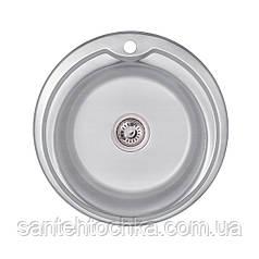 KRP Dekor-510 (0.8 мм) 180 врізна кухонна мийка