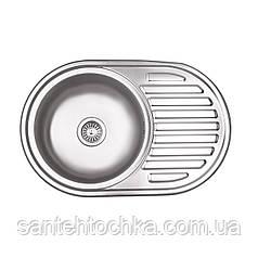 KRP Dekor-7750 (0.8 мм) 180 врізна кухонна мийка