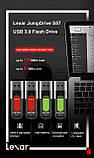 USB флешка Lexar S57 32 Gb USB 3.0 JUMPDRIVE 130 МБ/с, фото 6