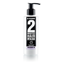 Экспресс-маска для волос 2 Minutes Menthol Oil Mr.SCRUBBER