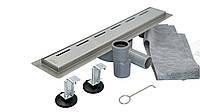 Душовий Трап нержавіюча сталь поворотний сифон 900*70 мм, Desire Elegante (Італія) ванна кімната, фото 1
