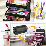 Складається модна сумочка-органайзер Roll-n-Go, фото 4