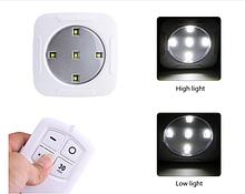 Світлодіодний сенсорний нічник з пультом SETOF3