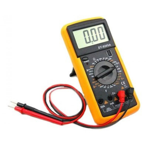 Мультиметр DT-9205A цифровой