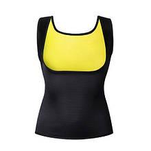 Майка для занять спортом SWEAT SLIM VEST   Одяг для схуднення