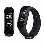 Фітнес-годинник М4, смарт браслет smart watch, аналог mi band 4, трекер, сенсорні фітнес годинник, фото 2