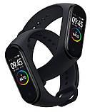 Фітнес-годинник М4, смарт браслет smart watch, аналог mi band 4, трекер, сенсорні фітнес годинник, фото 6
