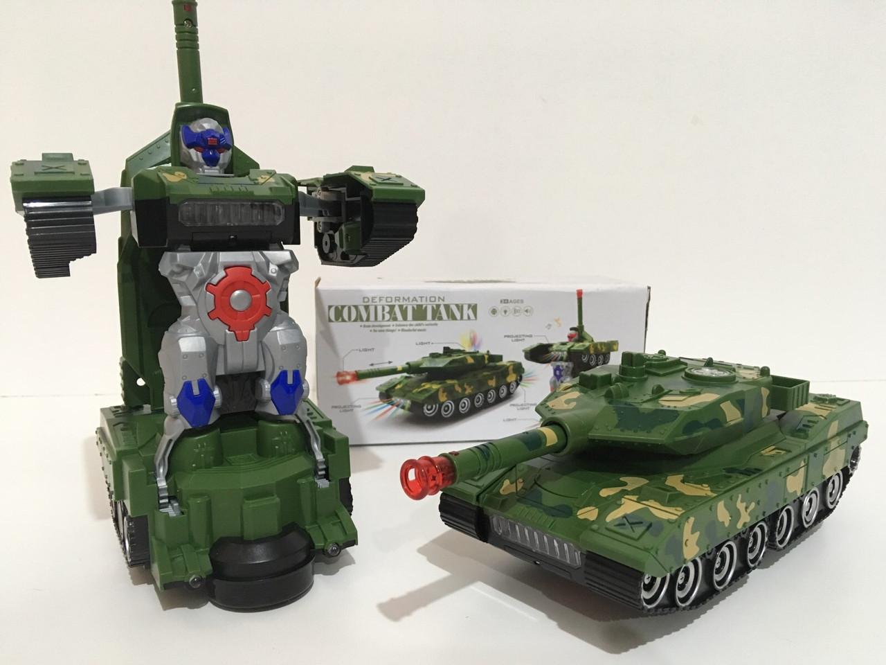 Танк-трансформер дитяча іграшка 388-44