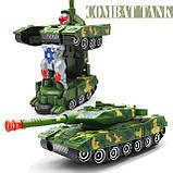 Танк-трансформер детская игрушка 388-44, фото 3