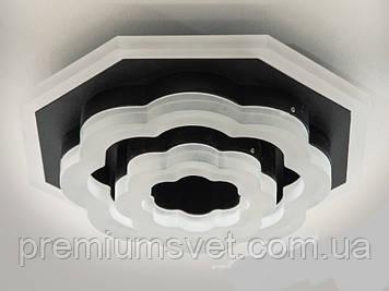 Светодиодный светильник настенно-потолочный 22W  6322BK