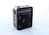 Радіоприймач GOLON RX-9100 з MP3, USB+SD, Портативне Радіо, фото 2