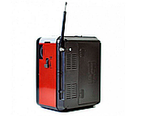 Радіоприймач GOLON RX-9100 з MP3, USB+SD, Портативне Радіо, фото 3