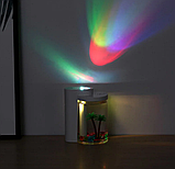 Зволожувач повітря і нічник (2в1) прозора чашка прикраса Humidifier, фото 3
