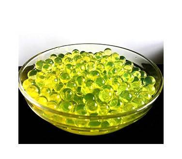 Шарики орбиз 50000 шт. желтого цвета (гидрогелевые шарики), фото 2