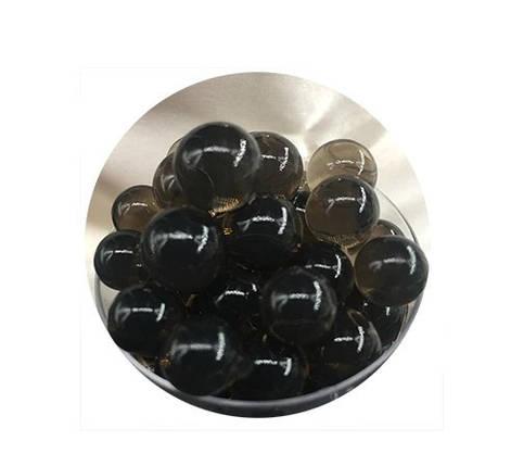 Шарики орбиз 50000 шт. черного цвета (гидрогелевые шарики), фото 2