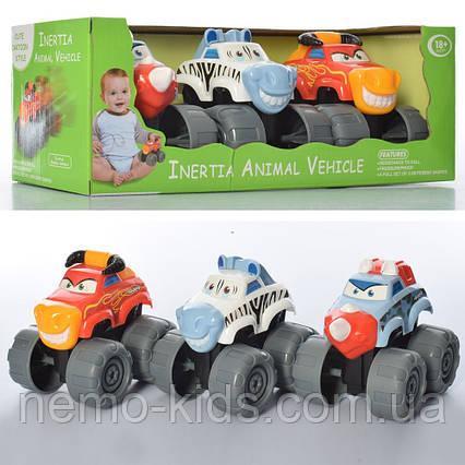 Набор машинок инерционных, для малышей +18, не больших колесах, не убеваемые.