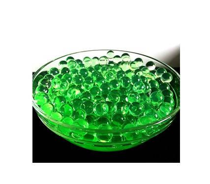 Шарики орбиз 50000 шт. зеленного цвета (гидрогелевые шарики), фото 2