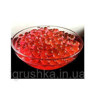 Шарики орбиз 50000 шт. красного цвета (гидрогелевые шарики)