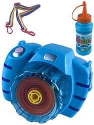 Детский Фотоаппарат с мыльными пузырями BUBBLE CAMERA 889