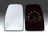 Вкладыш зеркала левое с подогревом на Renault Master II 03- Alkar (Польша) 6431905