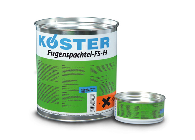 KÖSTER Fugenshpatel FS-H (комби - 4 кг)
