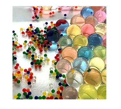 Шарики орбиз 50000 шт. разноцветные (гидрогелевые шарики)