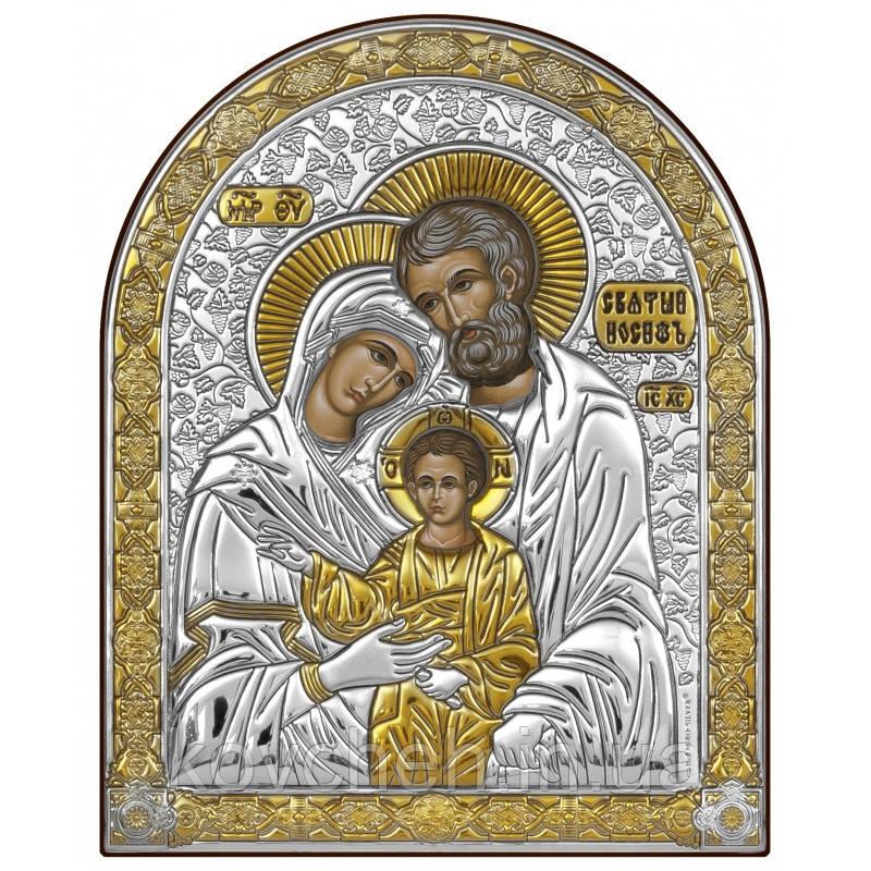 Икона греческая Святое семейство 6,7 x 8,3