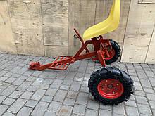 Адаптер для мотоблока Булат короткий (универс.ступица, стоят колеса 4,00-8)