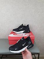 Мужские кроссы Найк Аир Макс 270. Кроссовки Nike Air Max 270 черные беговые и повседневные сетчатые на лето