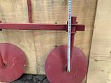 Дисковый окучник Булат Ф-370 (двойная сцепка 800 мм,круглые стойки), фото 10
