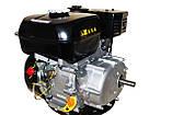 Бензиновый двигатель Weima ВТ170F-S(CL) (центробежное сцепление, вал 20 мм, шпонка), фото 4