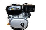 Бензиновый двигатель Weima ВТ170F-S(CL) (центробежное сцепление, вал 20 мм, шпонка), фото 6