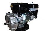 Двигун бензиновий GrunWelt GW170F-S (CL) (відцентрове зчеплення, шпонка, вал 20 мм, 7.0 л. с.), фото 4