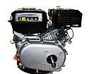 Двигун бензиновий GrunWelt GW170F-S (CL) (відцентрове зчеплення, шпонка, вал 20 мм, 7.0 л. с.), фото 6