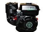 Двигун бензиновий GrunWelt GW210-S (CL) (відцентрове зчеплення, шпонка, вал 20 мм, 7.0 л. с.), фото 2