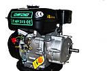 Двигун бензиновий GrunWelt GW210-S (CL) (відцентрове зчеплення, шпонка, вал 20 мм, 7.0 л. с.), фото 6