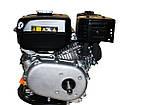 Двигун бензиновий GrunWelt GW210-S (CL) (відцентрове зчеплення, шпонка, вал 20 мм, 7.0 л. с.), фото 7