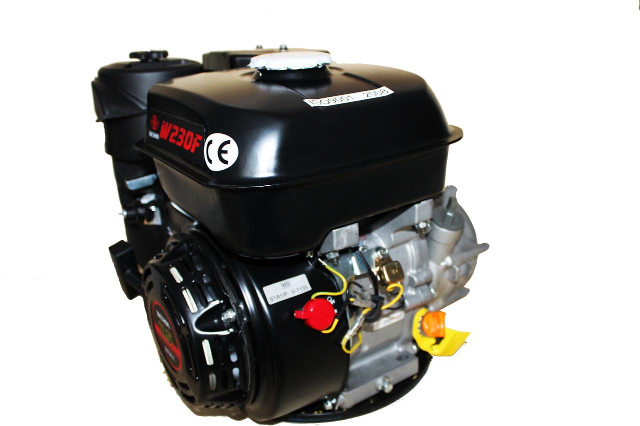 Двигун бензиновий WEIMA W230F-S (CL) (відцентрове зчеплення, 7,5 л. с., шпонка, 20 мм)
