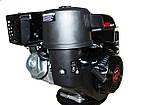 Двигатель бензиновый Weima WM190FE-S (CL) (центробежное сцепление, шпонка 25 мм, 16 л.с.), фото 2