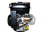 Двигатель бензиновый Weima WM190FE-S (CL) (центробежное сцепление, шпонка 25 мм, 16 л.с.), фото 5