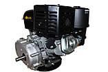 Двигун бензиновий Weima WM192F-S (CL) (відцентрове зчеплення, шпонка, 18 л. с., ручний стартер), фото 3