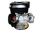 Двигун бензиновий WEIMA WM192FE-S (CL) (відцентрове зчеплення, шпонка 25 мм, ел/старт), фото 2