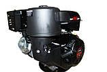 Двигатель бензиновый WEIMA WM192FE-S (CL) (центробежное сцепление, шпонка 25 мм, эл/старт), фото 5