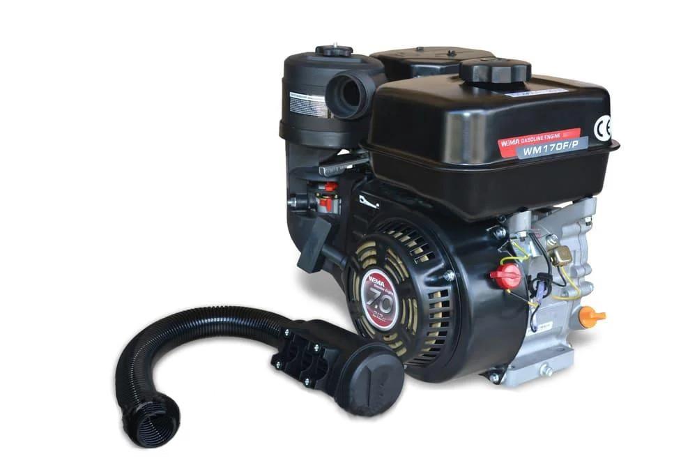 Двигатель бензиновый Weima WM 170F-S (два фильтра, шпонка 20 мм, 7,0 л.с.)