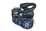 Двигатель бензиновый Weima WM 170F-S (два фильтра, шпонка 20 мм, 7,0 л.с.), фото 2